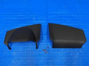 2015 2020 Ford F150 Lariat Left Right Pad Dash Cover Black W Gray Stitching