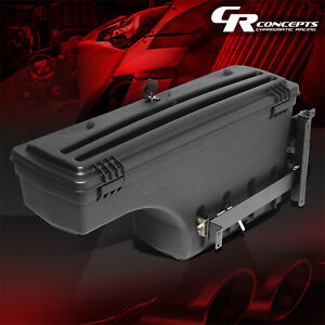 Driver Side Truck Bed Wheel Well Storage Tool Box For 2015 2019 Chevy Colorado