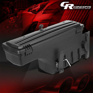 Driver Side Truck Bed Wheel Well Storage Tool Box For 2005 2019 Toyota Tacoma