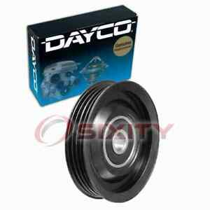 Dayco Drive Belt Idler Pulley For 1990 1994 Nissan 300zx Engine Bearing Qx