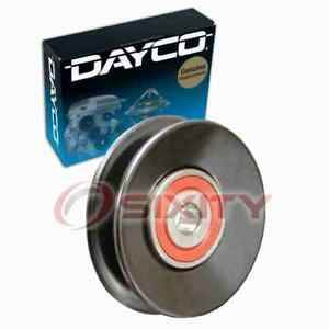 Dayco Ac Drive Belt Idler Pulley For 1986 1991 Mazda Rx 7 Engine Bearing Jo