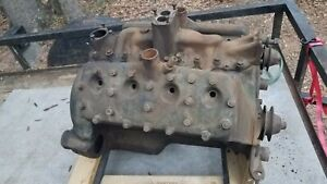 Rare Original 1937 1938 Flathead Ford Complete Engine Pick Up Or Freight It
