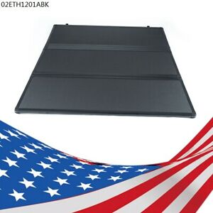 5 5ft Short Bed Aluminum Frame Tri Fold Hard Tonneau Cover Fit For 04 18 Ford