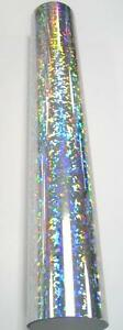 Crystal Holographic Sign Vinyl 24 X 10ft Roll Longlife