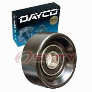 Dayco Drive Belt Idler Pulley For 2011 2014 Mazda 2 Engine Bearing Tension Fn