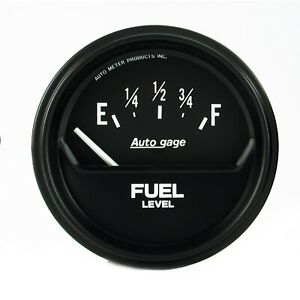 Autometer 2316 Autogage Fuel Level Gauge