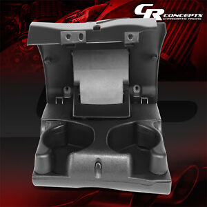 Charcoal Front Dashboard Cup Holder Inserts For 1998 2002 Dodge Ram 1500 3500