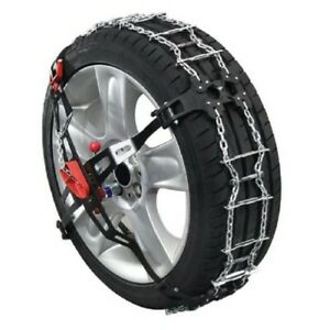 P211 Quick Trak Passenger Car Tire Chains Never Used Low Clearance Low Profile
