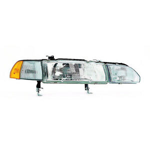 Cpp Replacement Headlight Ac2503101 For 1990 1993 Acura Integra