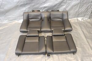 2013 Ford Mustang Gt Coyote 5 ol V8 Oem Leather Rear Seats wear 1286