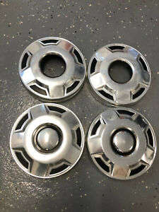 4 Vintage 10 5 Dog Dish Hubcaps 4x4 Ford F150 Pickup 02242101