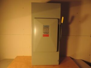 Grouse Hinds 2 Pole 200 Amp 240 Volt Fuseable Disconnect Switch Cat Gh324n