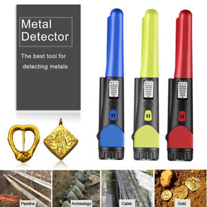 Hand held Detector Pinpointer Metal Detector Gold Cable Pointer Probe Sensitive