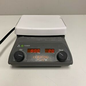 Corning Pc 420d 6795 420d Lab Stirrer And Hot Plate Tested And Working