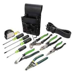 Greenlee 12 piece Electricians Tool Set