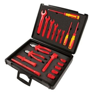 Knipex 19 piece 1000 V Insulated Electricians Tool Set In Safety Case