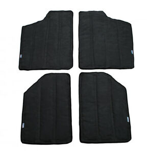 Fits 2012 17 Jeep Wrangler Jk 2dr Black Car Top Heat Insulation Protector Cotton