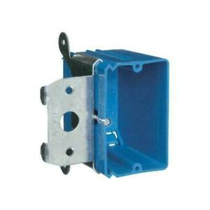 One Gang Adjustable Wall Box By Carlon Blue