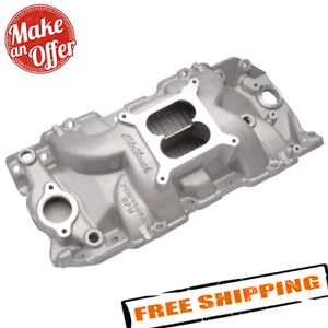 Edelbrock 7163 Performer Rpm 2 R Intake Manifold For Chevy 396 502 Big Block V8