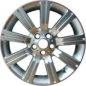 Oem Reman 20x9 5 Alloy Wheel Rim Bright Silver Full Face Painted 72200