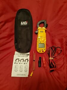 New Hvac Uei Dl379b Clamp On Meter With Factory Case Uei Leads And Paperwork