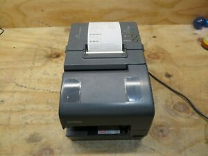 Epson Tm h6000iv Pos Thermal Receipt Printer M253a No Adapter