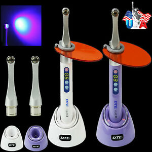Woodpecker Dte Dental Curing Light 1sec Resin Cure Lamp 2300mw cm Iled Max Plus