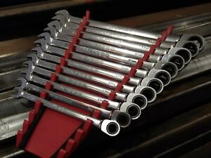 Matco 12 piece 72 Tooth Metric X long Combo Ratchet Wrench Set