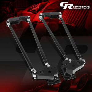 Rear Parallel Hand Four 4 link Bars Suspension Kit For 1955 1959 Chevy Truck
