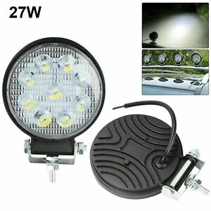 5inch Led Work Lights Pods 27w Round Led Driving Fog Suv Offroad Atv Boat
