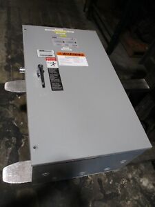 Asco Series 300 Automatic Transfer Switch D00300030150n10c 150a 480v 60hz Used