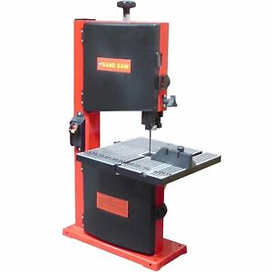 Electric Small Mini Benchtop Wood Cutting Bandsaw Band Saw
