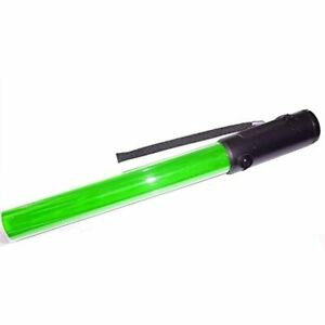 Diskpro 14 5 Inch Traffic Baton Light 18 Green Led With Two Flashing Modes 3