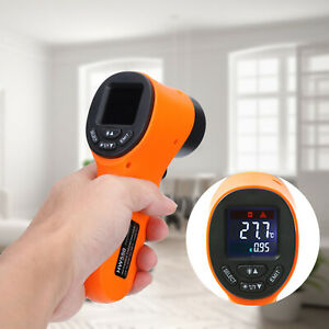 Industrial Digital Temperature Tester Meter Ir Infrared Thermometer Three Color