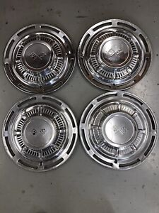 1959 Chevy Impala Hubcaps Chevrolet Wheel Covers 14 Inch