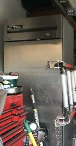 True Freezer Single Door Stainless Steel Reach in Restaurant Equipment Used