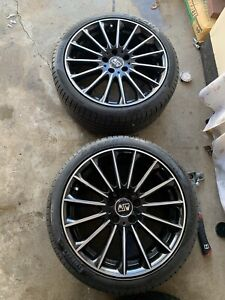 Set Of Msw Type 30 Wheels For Mercedes Benz
