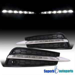For 2011 2014 Chevy Cruze Led Fog Lamps Daytime Driving Lights