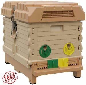 Bee Hive Nuc Box Queen Castle 7 Frame Professional Beekeepers Advanced Insulated