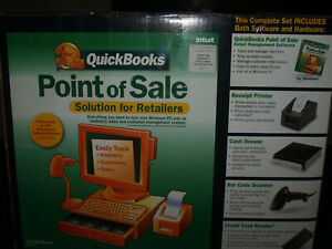 Intuit Quickbooks Point Of Sale Hardware Software Bundle