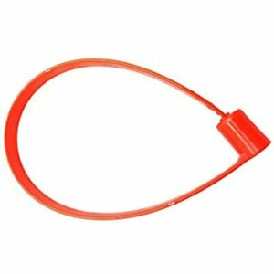 Disposable Plastic Security Seals Shipping Padlock For Truck Tailgate Containers