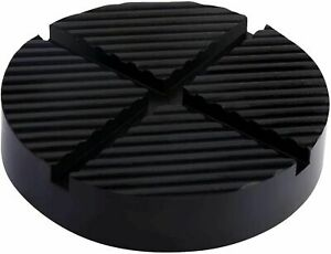 Universal Jack Pads Rubber Pad Adapter Car Truck Cross Slotted Frame Rail Floor