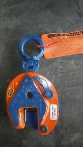 new Crosby Ipu10 1ton Inter Product Holland Lifting Clamp 0 3 4