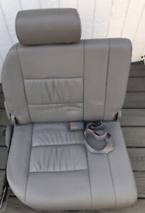 2004 Toyota Land Cruiser Third 3rd Row Grey Leather Seats