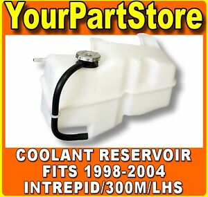 Water Coolant Recovery Overflow Tank Reservoir Radiator Bottle For Intrepid Lhs