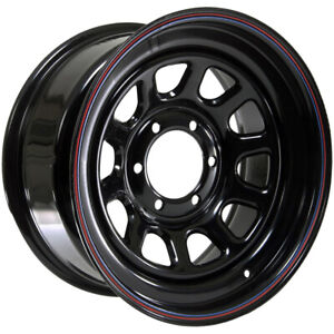4 American Racing Ar767 16x7 6x5 5 0mm Black Stripes Wheels Rims 16 Inch