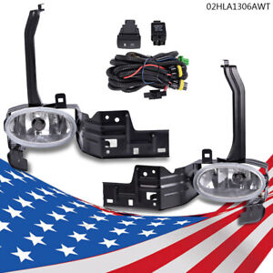 Front Fog Light Lamp Wiring Switch Kit For 08 10 Honda Accord 2dr Lx Ex