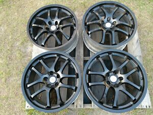 Set 4 Ray S Oem For Infiniti Forged G35 19 Wheels Rims Staggered 19x8 19x8 5