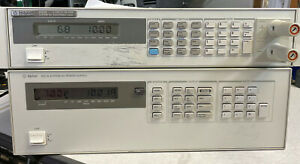 Agilent Hp 6621a Dual Variable Dc Output Power Supply Tested At Full Load
