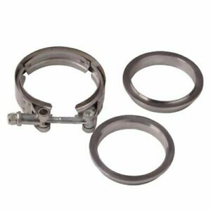 4 Inch Stainless Steel 304 V Band Clamp Flange For Turbo Exhaust Down Pipes